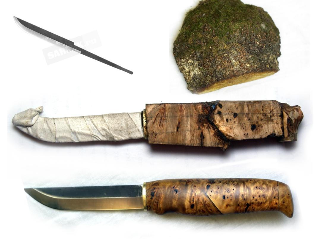 Как сделать ручку из капа на нож
